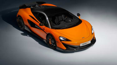 McLaren 600LT full specs - front quarter