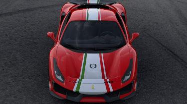 Ferrari 488 Pista Piloti Ferrari – front