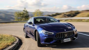 Maserati Ghibli MY2021 – tracking
