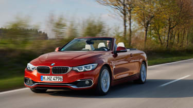 2017 BMW 4 Series Convertible - Front