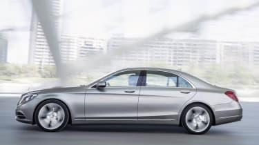 2014 Mercedes S-class side profile