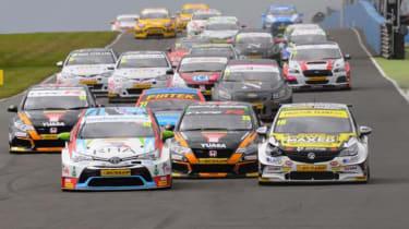 BTCC racing