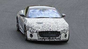 Jaguar F-type facelift spied front 2