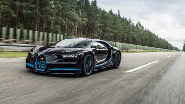 Bugatti Chiron '42' record breaker - front quarter