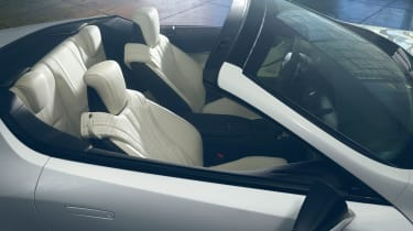 Lexus LC Convertible Concept  interior