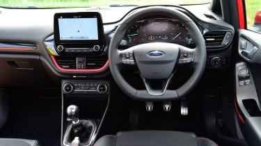 Ford Fiesta ST-Line UK - inteiror