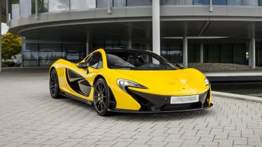 McLaren P1 top speed and performance figures