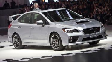 Subaru WRX STI video