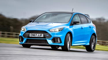 Ford Focus RS Edition – front quarter