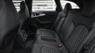 2013 Audi RS6 Avant interior rear seats
