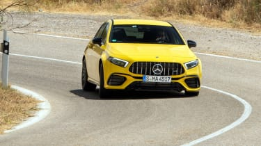 Mercedes-AMG A45 S - front