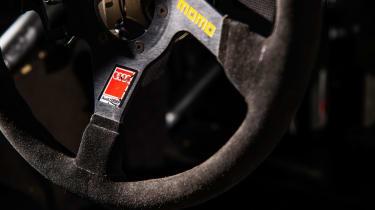 Audi A4 Super Tourer - steering wheel