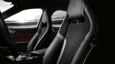 Alfa Romeo Giulia QV NRING - seats