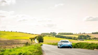 Porsche Taycan 2021 review - 4S pan2