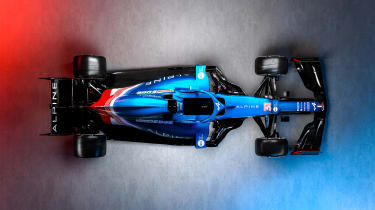 2021 Formula 1 racers – Alpine top