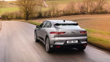 Jaguar I Pace – rear quarter tracking