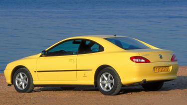 Peugeot 406 Coupe – rear quarter