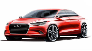 Audi A3 saloon concept news and pictures