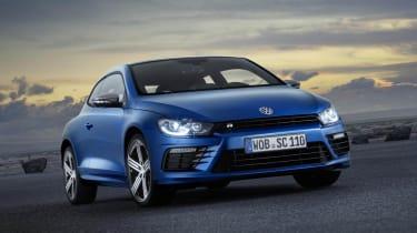 New VW Scirocco R blue 2014