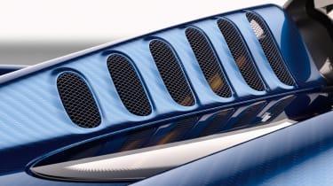 Huayra roadster hood