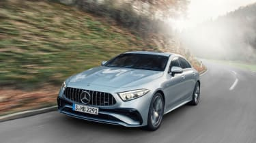 2021 Mercedes CLS53 – front tracking