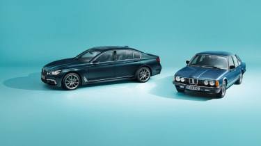 BMW 7-series (G12) 40 Jahre and BMW 7-series (E23)