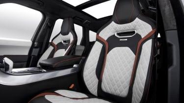 Overfinch Range Rover Sport interior front