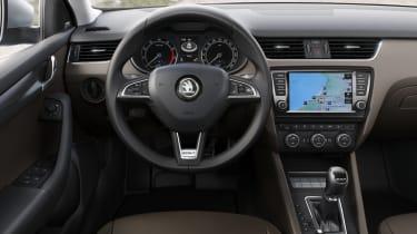 Skoda Octavia Scout steering wheel