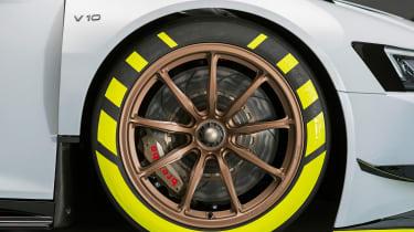 Audi R8 LMS GT2 wheel