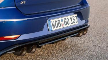 Volkswagen Golf R PP for UK - exhaust