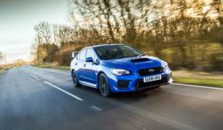 Subaru WRX Final Edition – front quarter