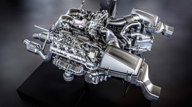 Mercedes AMG GT Coupe: new engine details