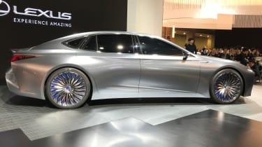 Lexus LS+ Concept – side