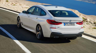 BMW 6-series GT - rear driving