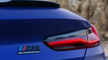BMW M8 Competition - badge