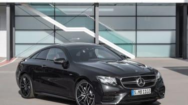 Mercedes-AMG E53 coupe – front quarter
