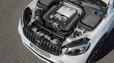 Mercedes-AMG GLC 63 Coupe engine