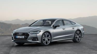 2018 Audi A7 Sportback - silver front