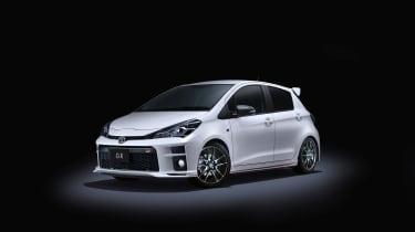 Toyota Vitz GR - front quarter