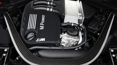 BMW M4 Convertible twin-turbo engine