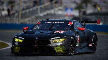 BMW M8 GTLM at Daytona International Speedway