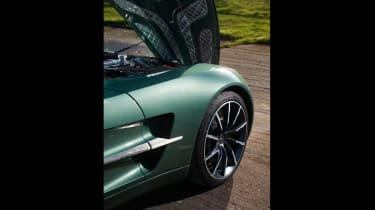 Aston Martin One-77 - bonnet