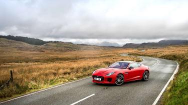 Jaguar F-Type four-cylinder - front three quarter