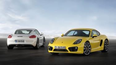 2013 Porsche Cayman and Cayman S