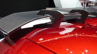 Lamborghini Aventador J rear spoiler