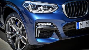 BMW X3 M40i - front detail