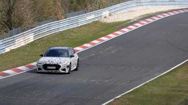Audi RS6 Avant spied 2019 (body-on) - distance