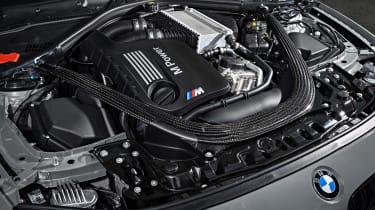 BMW M4 CS - engine