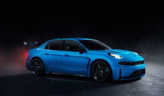 Lynk & Co 03 Cyan Concept front