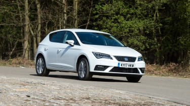 SEAT Leon - 2017 front driving